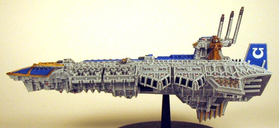 Despoiler Venerable Battle Barge Conversion